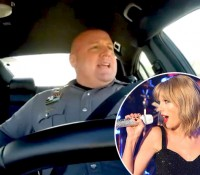 Un policía se vuelve viral gracias a sus interpretaciones de Taylor Swift cuando está de guardia (+ Video)