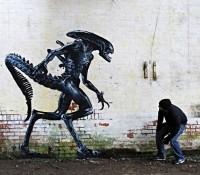 Arte callejero: Imágenes de Ingenio humano